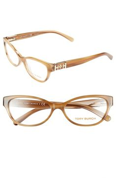 Tory Burch 55mm Optical Cat Eye Glasses