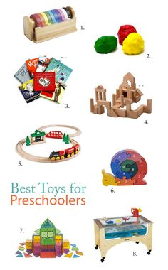 Top 8 Toys for Preschoolers, recommended by a preschool teacher