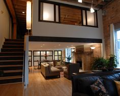 Close Off Loft Design, modern
