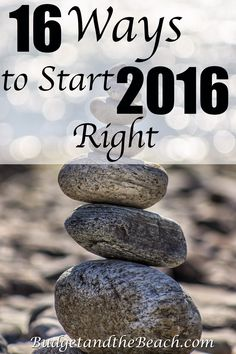 2016 is here, and I've come up with 16 different ways to start the new year right!