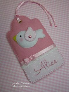 Felt Tags for Alice
