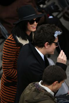 Katy Perry and John Mayer at the 2013 Presidential Inauguration on Jan 21, 2013 at the #US #Capitol in Washington DC