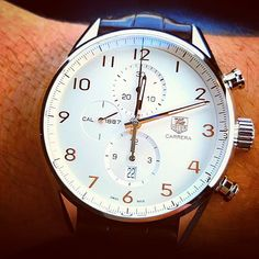 Tag Heuer Carrera Calibre 1887 #menswatches