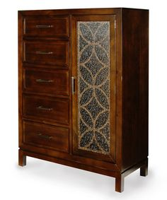 Look at this Cherry Catherine Chest of Drawers on #zulily today!