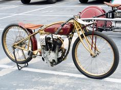 Image Detail for - Vintage Motorcycle Rally El Camino Gold And Red Indian Bike Photo 17 ...