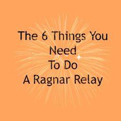 6 Things Ragnar Relay