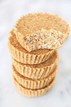Quinoa Peanut Butter Crunch Cups