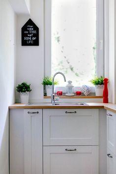Zdjęcie numer 15 w galerii - Metamorfoza małej kuchni w bloku. Co za zmiana!