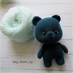 Crochet Toys Patterns, Amigurumi Patterns, Stuffed Toys Patterns, Knitting Patterns, Kawaii Crochet, Knit Crochet, Crochet Hats, Amigurumi Toys, Crochet Animals