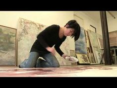 Yiching Chen - Paintings [Eng Sub] ::: Artistics.com - YouTube