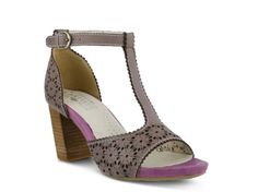 Women's L'Artiste by Spring Step Peony Sandal - Purple
