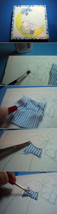 Мастер-класс изготовления детского пэчворк пано на пенопласте