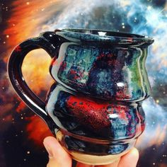 COSMIC MUG in front of to the Planetary Nebula NGC 5189, www.hubblesite.org.