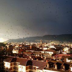 Momento #nubarrones y #sol
