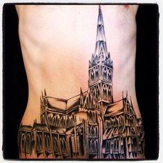 Dan Morris Rain City Tattoo Manchester woodcut ship   Flickr - Photo Sharing!