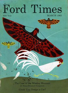 Charley Harper, Ford Times cover, 1962 | Flickr - Photo Sharing!