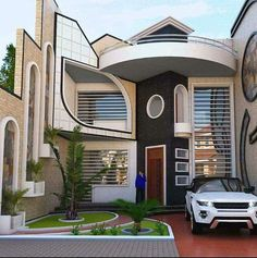Top 35 Cool House Design Ideas Ever Built - Engineering Discoveries House Main Gates Design, House Outside Design, House Front Design, Small House Design, Best Modern House Design, Latest House Designs, Bungalow House Design, Cool House Designs, House Construction Plan