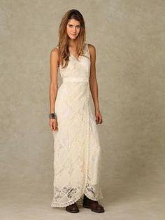 Hippie Bohemian Wedding Dress Los Angeles Hippie Indie wedding dress