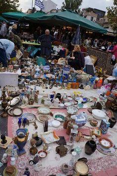 Athens - Monastiraki flea market