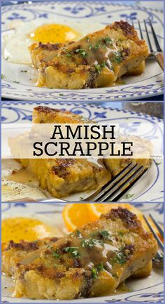 Amish Scrapple is a Pennsylvania Dutch, breakfast favorite that's made from pork, cornmeal, and just a few more ingredients. It's simple, but so flavorful and hearty!