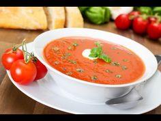 """Sopa de Tomate Holandés"" con ""Pesto"" ""Platos Vegetarianos"" ""Olla Holand... https://www.youtube.com/user/MaharajaXpress"