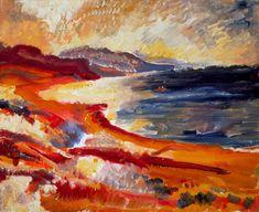 David Bomberg (1890–1957), Cyprus, 1948. oil on canvas, 51 x 61 cm