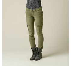Denim & Supply Ralph Lauren Pants, Skinny Leg Cargo denim & supply ...