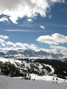 Alta Badia, in the heart of the Dolomiti Superski area, is the world's unbeatable ski circuit in the Italian Alps.