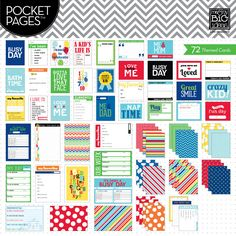 Themed Cards - A Kid's Life - POCKET PAGES™ journaling cards