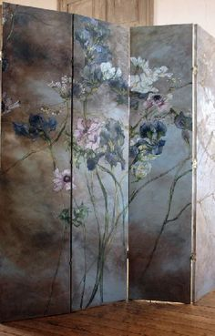 i love to have this painting in front of my bed Motif Floral, Arte Floral, Decorative Screens, French Artists, Botanical Art, Wallpaper, Painting Inspiration, New Art, Flower Art