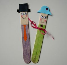 bookmark. A fun craft to do with the kids.