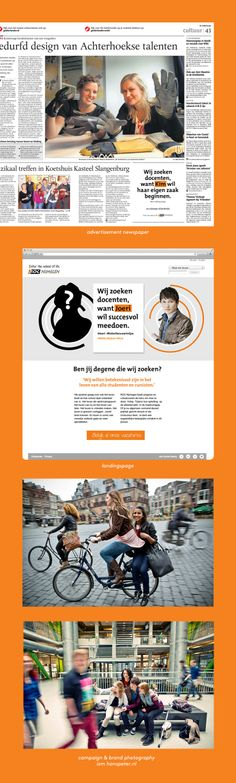ROC Nijmegen Campaign - Portfolio of Twan Minten #LaborMarketCommunications #Branding  #photography