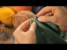 ▶ How to Bind Off in the Round   Circular Knitting. Standard Bind off and Stretchy Bind off