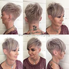 #guytangmetallics make me so happy. New #pixie client also has me like violet metallic #sendmeallthepixies and #shorthair. #undercut #fade #disconnectedhaircut #nothingbutpixies #pixie360 #pixiecut #pixiestyle #imallaboutdahair #modernsalon #behindthechair #americansalon #arizonasalon #gilbertsalon #emilyandersonstyling