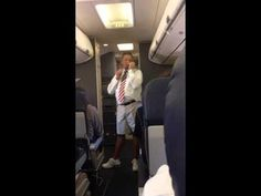 Hilarious Southwest Flight Attendant San Francisco to Chicago on 6 17 14 Videos Funny Youtube, Funny Videos, Flight Attendant Humor, Flight Quotes, Aviation Humor, Aviation Technology, Safety Message, Comedy Clips, Mejor Gif