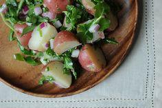 Potato salad with rocket & dijon vinaigrette