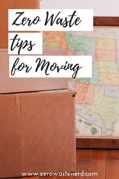 Zero Waste Tips for Moving - Claudia Sarrazin - Zero Waste Tips for Moving Zero Waste Tips for Moving - Zero Waste Nerd - Recycling Facts, Recycling Information, Homemade Wedding Favors, Eco Friendly Cleaning Products, Green Living Tips, Moving Tips, Moving Hacks, Ways To Recycle, Diy Candles