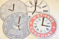 New Year's Eve game - Roll around the clock with link to printable clock faces, if you print clock faces make sure you drop them a line of thanks