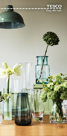 From a blue-tinted, recycled glass vase at just £8 to a sleek frosted cylinder vase at only £4, we have the perfect vases to show your flowers off in just the right way – whether it is a single stem or a bouquet in full bloom