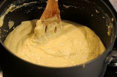 Funchi basisrecept (polenta / maïsmeel)