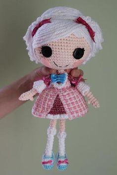 LALALOOPSY DOLL crochet pattern