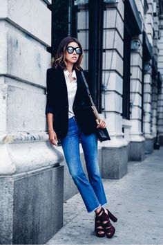 Parisienne: cropped flares