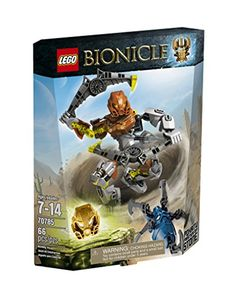 Summon the awesome elemental power of Pohatu - Master of Stone to defeat the Skull Spider! Attach the convertible Jeterangs to the feet of this powerful poseable BIONICLE figure and launch into the s...