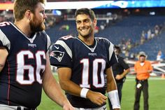 JIMMY GAROPPOLO'S BLUEPRINT FOR SUCCESS? LEAN ON REST OF ROSTER