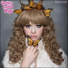 Gothic Lolita Wigs®  Lady Amara™ Collection - Milk Tea