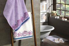 Jogo de toalhas Suria. Fio Cardado, gramatura 430 g/m³