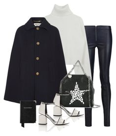 """""""Sin título #1229"""" by vivig5 ❤ liked on Polyvore featuring Alice + Olivia, Yves Saint Laurent, STELLA McCARTNEY, Alexander Wang and Aspinal of London"""