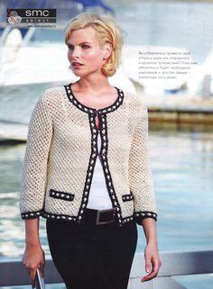 casaqueto de tricot