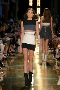 Alex Perry Ready-To-Wear S/S Runway gallery - Vogue Australia Carla Zampatti, Alex Perry, Vogue Australia, Australian Fashion, Spring Summer, Summer 2014, Supermodels, Leather Skirt, Ready To Wear
