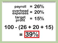 Calculating food cost...nice n easy